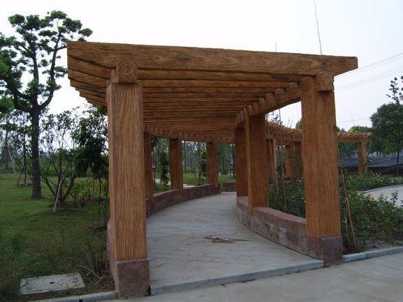 防腐木的堆放方式|长沙防腐木|湖南防腐木|长沙防腐