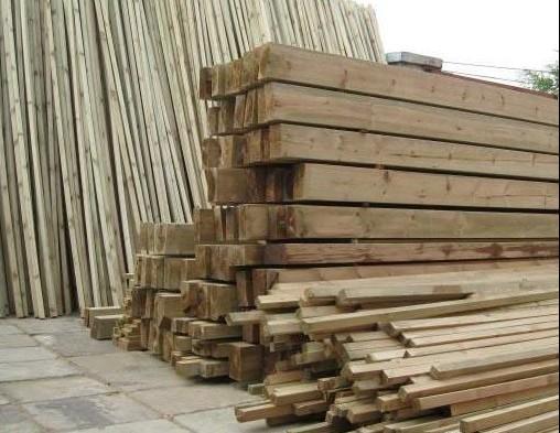 防腐木材生产全流程