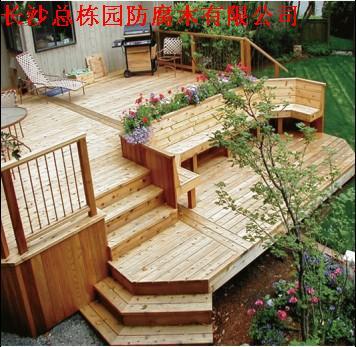 怎样选择阳台防腐木地板|长沙防腐木|湖南防腐木