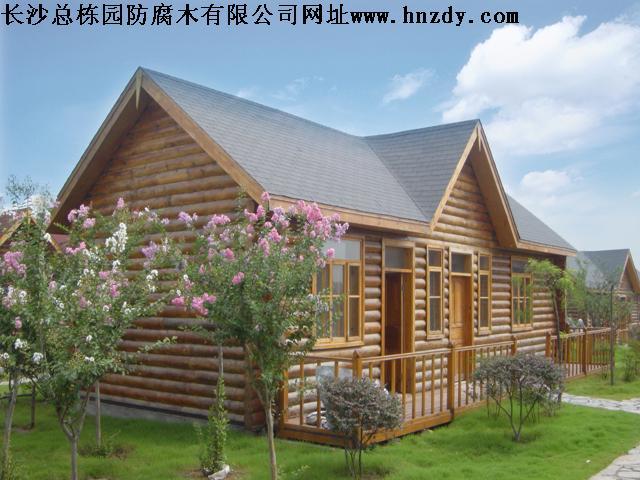 防腐木木结构新用途 ·长沙总栋园防腐木庭院装修