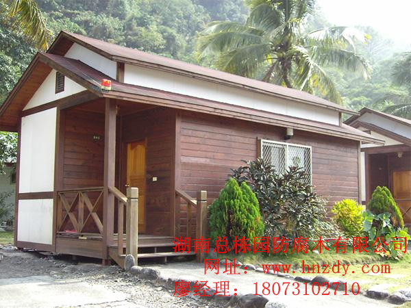 防腐木木屋的维护和措施|长沙防腐木|湖南防腐木